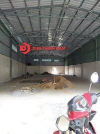Cho thuê 2 nhà xưởng thuộc khu vực đường tân hòa đông quận Bình Tân 9x20 vá 8x20