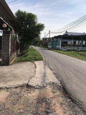 Bán đất thổ 145m2 nở hậu mặt tiền đường Bà Thiên, xã Nhuận Đức,Củ Chi.