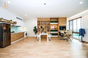 Cho thuê căn hộ văn phòng kết hợp lưu trú, PMH - Quận 7 giá chỉ 20 triệu/tháng