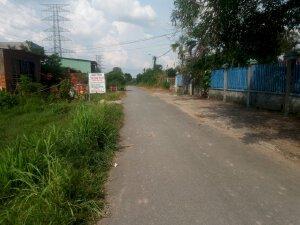 đất thổ cư 8m x 39m đường nhựa ấp 3 xã Phạm Văn Cội.