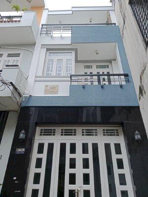 Nhà nguyên căn mới hẻm Dương Văn Dương, 1 trệt 2 lầu, giá 14tr/tháng