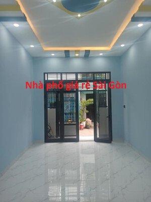 Nhà HXH Tân Hòa Đông, Bình Trị Đông, Bình Tân, 72m2, 3 tầng. Tùng thổ cư.