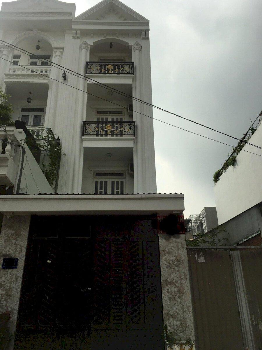 Cho thuê nhà mặt tiền HT 26 , p Hiệp Thành 4 x25m, 3 lầu, giá 14 triệu/tháng