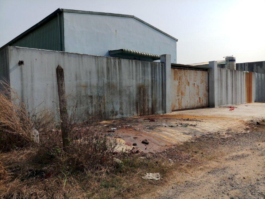 Bán xưởng 2 mặt tiền đường Xuân Thới Sơn - Hóc Môn